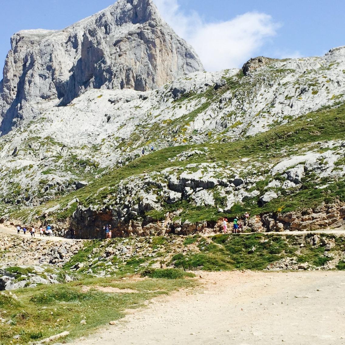 The rugged Picos de Europa