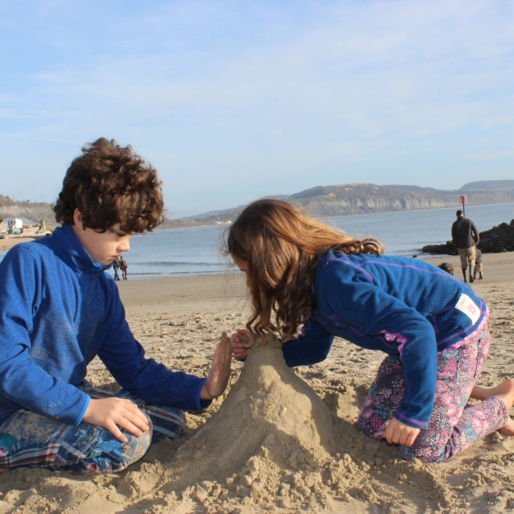 If there's sand a castle must be made ...
