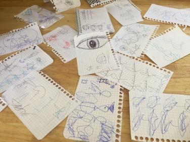 Restaurant doodles