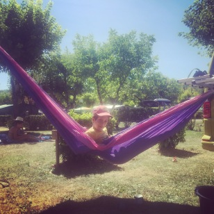 7 campsites and 4 weeks in and finally we found somewhere to put the hammock