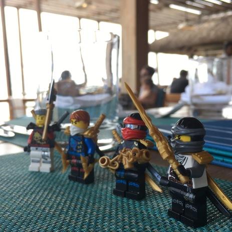 Lego Ninjago hit the beach restaurant