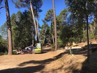 Gorgeous camping La Riviera in Zonza, Corsica