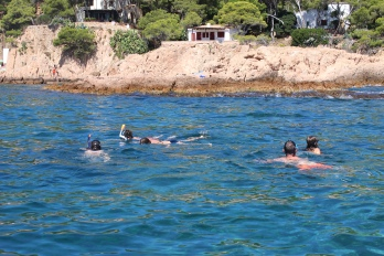 A bit of snorkelling
