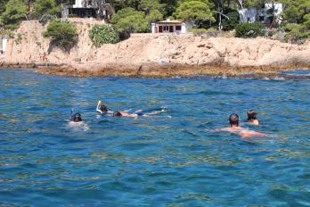 A bit of snorkelling